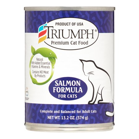 Sunshine Mills Triumph Salmon Formula Wet Cat Food, 13.2 oz. - Mills Salmon