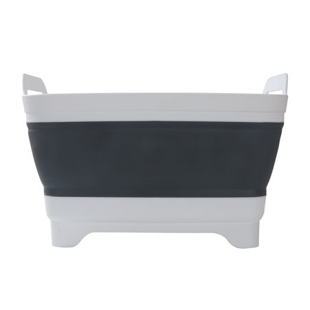 "Ozark Trail Plastic and Silicone 10-quart Collapsible Sink, 12.1"" x 12.1"" Basin"