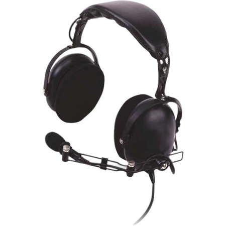 Kenwood Noise Reduction Headset For Kenwood Two Way Radio Stereo Black Wired Over-the-head Binaural... by
