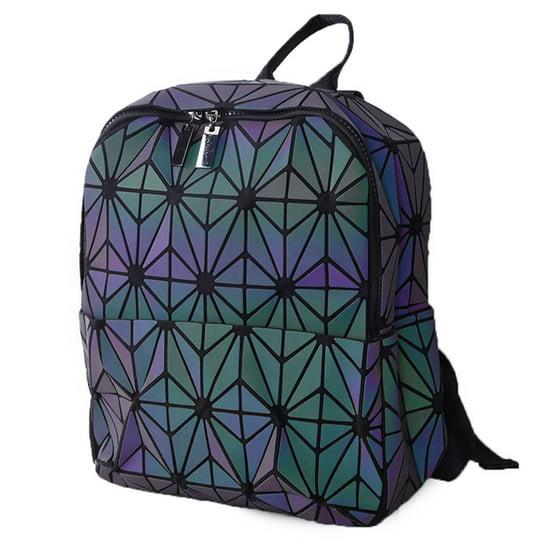 b7d1a58ebe1e WEIJU - Mini Geometric Luminous Backpack Fashion Lattice Holographic ...