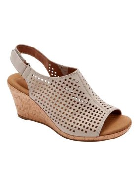 Women's Rockport Briah Perfed Slingback Wedge Sandal