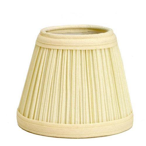 Deran Lamp Shades 5'' Mushroom Pleat Empire Candelabra Shade