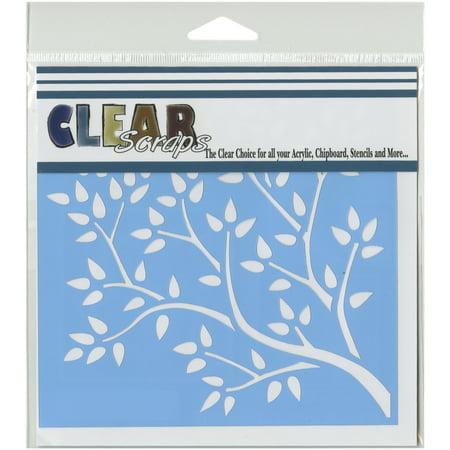 Clear Scraps Stencils, 6