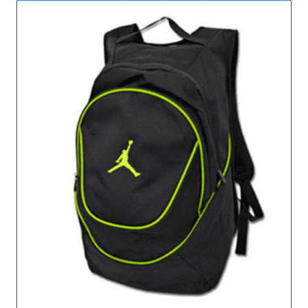 5bc5abb4f30a Nike - Jordan Air Jumpman Backpack Book Bag-Black Green - Walmart.com