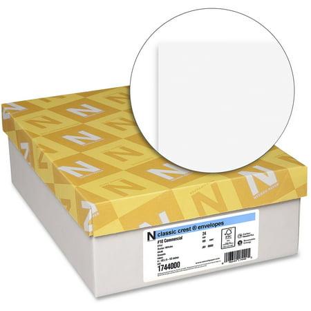 - Classic Crest, NEE1744000, No. 10 Envelope - Smooth, 500 / Box, Solar White