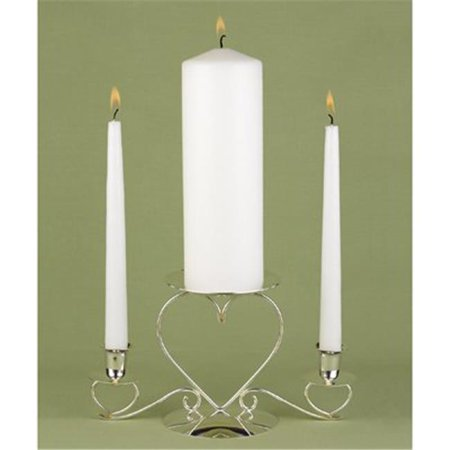 White Unity Candle Set