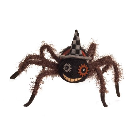 Shaking Spider Decor Animated Haunted House Prop Halloween Party Decoration - image 1 of 1