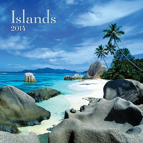 Avalanche Islands 2014 Wall Calendar
