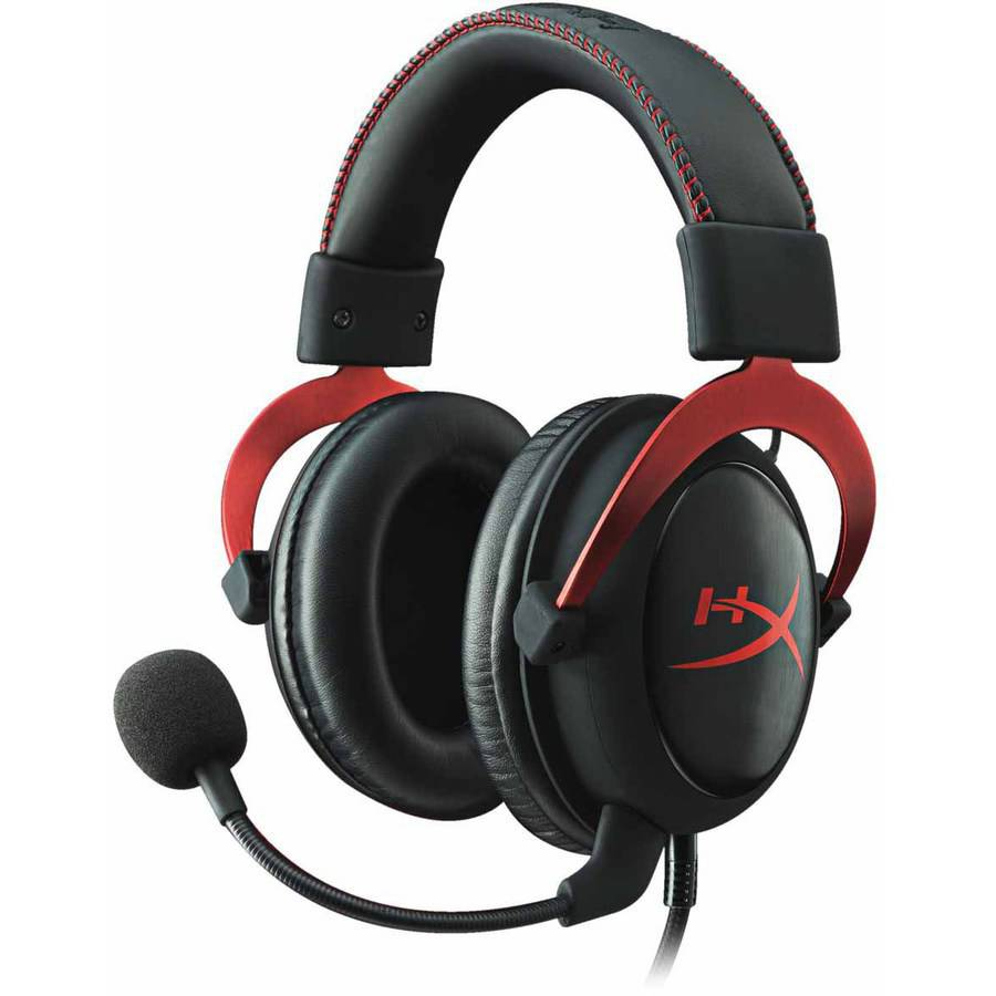 Kingston HyperX Cloud II Pro Gaming Headset, Red