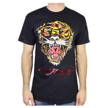 Ed Hardy Men's Eh Tiger T-Shirt Short Sleeves Black Mineral Size 2X-Large Ed Hardy New Tiger