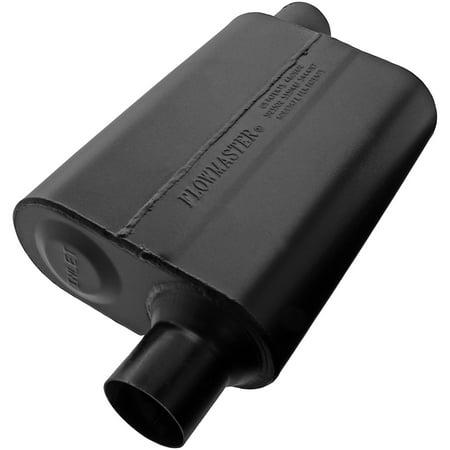 Flowmaster 942448 Super 44 Muffler - 2.25 Offset In / 2.25 Offset Out - Aggressive Sound ()