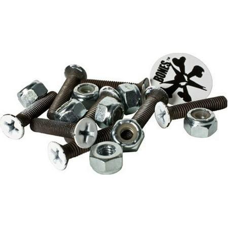 Bones 1-Inch Skateboard Mounting Hardware, Bones 1-inches mounting hardware By Bones Wheels ()