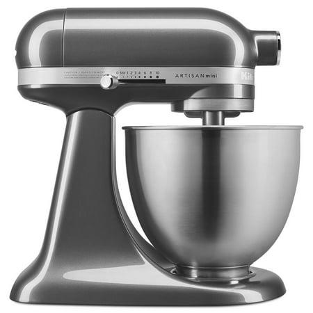 KitchenAid Artisan Mini 3.5 Quart Tilt-Head Stand Mixer, Liquid Graphite  KSM3311XQG