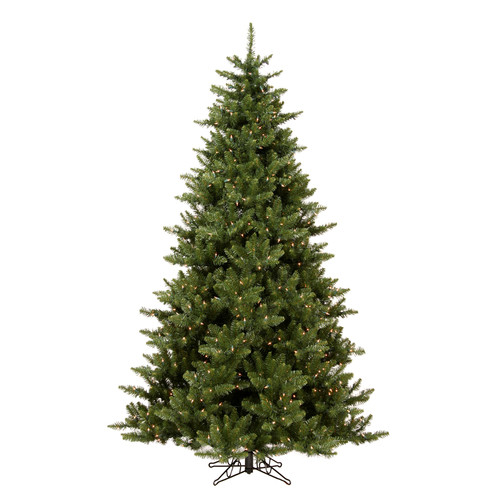 Vickerman Camdon Fir 5.5' Green Artificial Christmas Tree with 450 Clear Lights with Stand