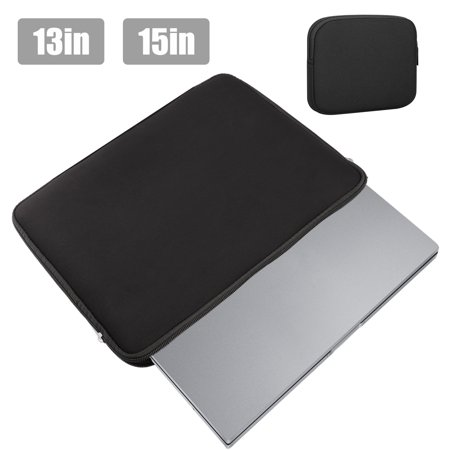 EEEkit Water Repellent Neoprene Sleeve Bag Cover Compatible 13 15 Inch Laptop with Small Case,