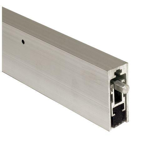 420NHMA-4 Automatic Door Bottom, 48 In, Aluminum