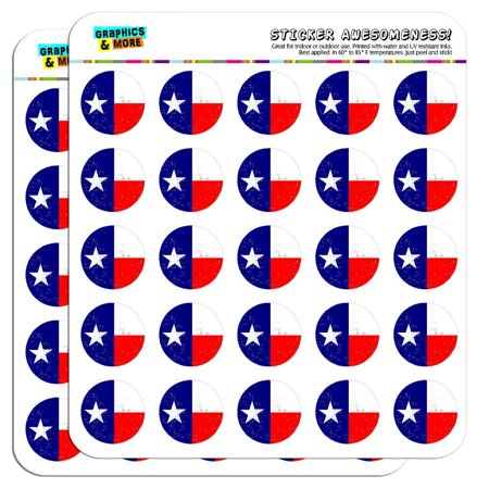 Texas Flag Distressed 1