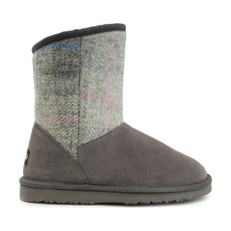 Girls' Lamo Wembley Fringe (Girls Fringe Boot)