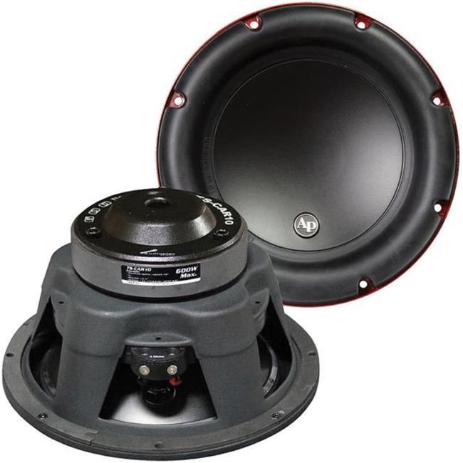 Audiopipe TSCAR10 10 in. Wattoofer - 600 watt Max 4 Ohm SVC - image 1 of 1