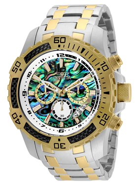 8481b22fb62 Product Image 25093 Pro Diver 51mm Quartz Chrono Rainbow Dial SS Two-Tone  Men s Watch. Invicta