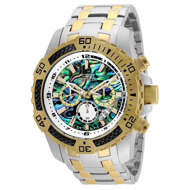 Invicta Men's Pro Diver Chronograph Rainbow Dial Watch 25093 51mm