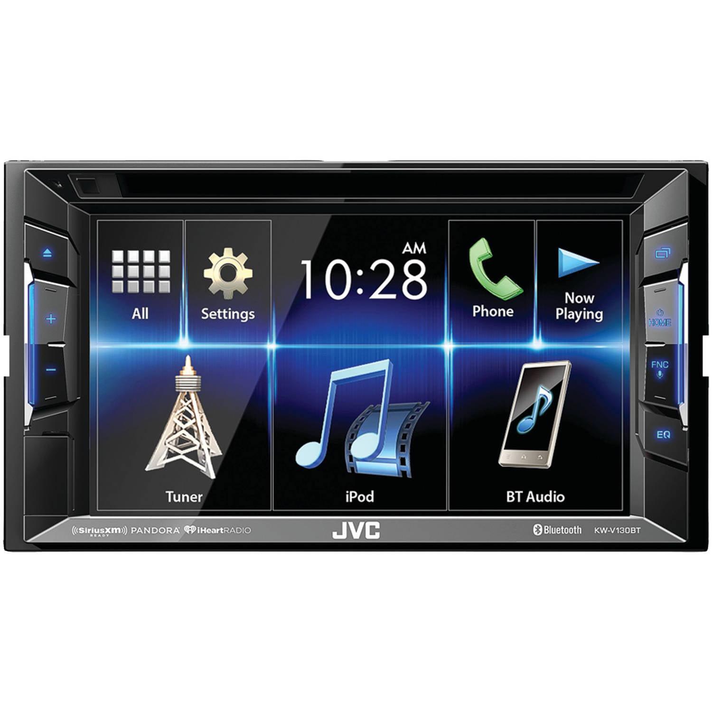 JVC KW-V130BT Double DIN BluetoothA In-Dash DVD/CD/AM/FM Car