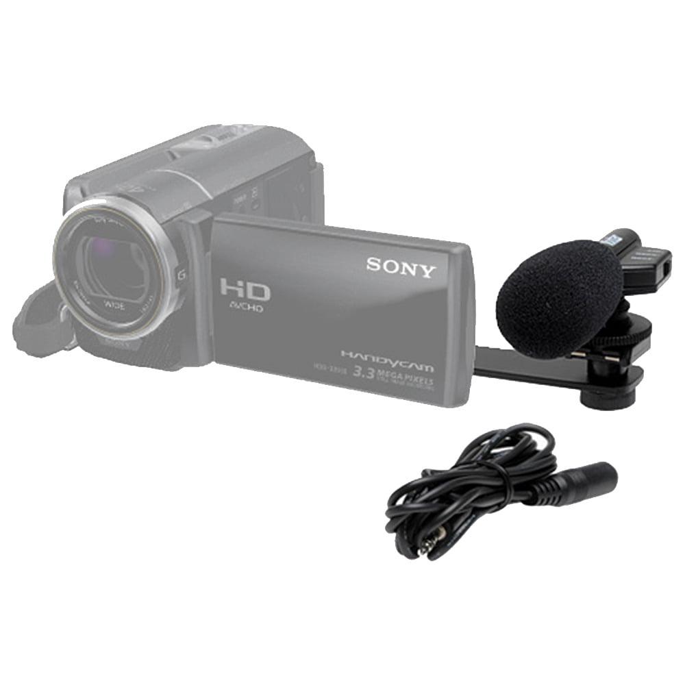 Vivitar Mini Zoom Video Camcorder/Camera Shotgun Microphone with Bracket