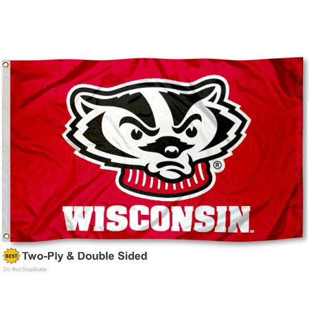 Wisconsin Badgers Two Sided (Wisconsin Badgers Runner)
