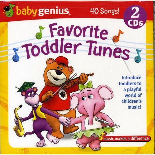 Favorite Toddler Tunes (2CD)