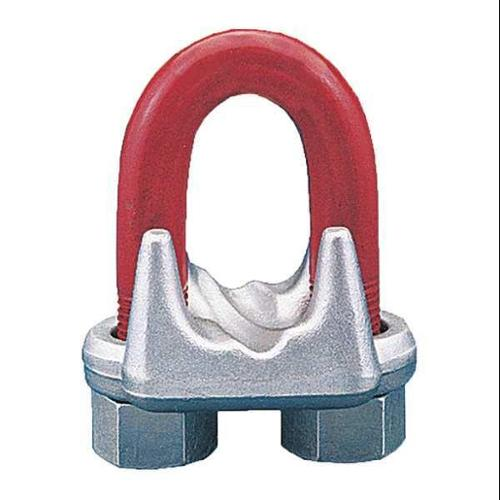 CROSBY 1010113 Wire Rope Clip, U-Bolt, 7/16in