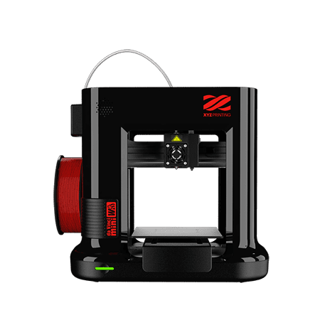 "XYZprinting da Vinci Mini Wireless 3D Printer-6""x6""x6"" Volume (Includes: 300g Filament, PLA/Tough PLA/PETG/Antibacterial PLA) Upgradable to print Metallic/Carbon PLA"