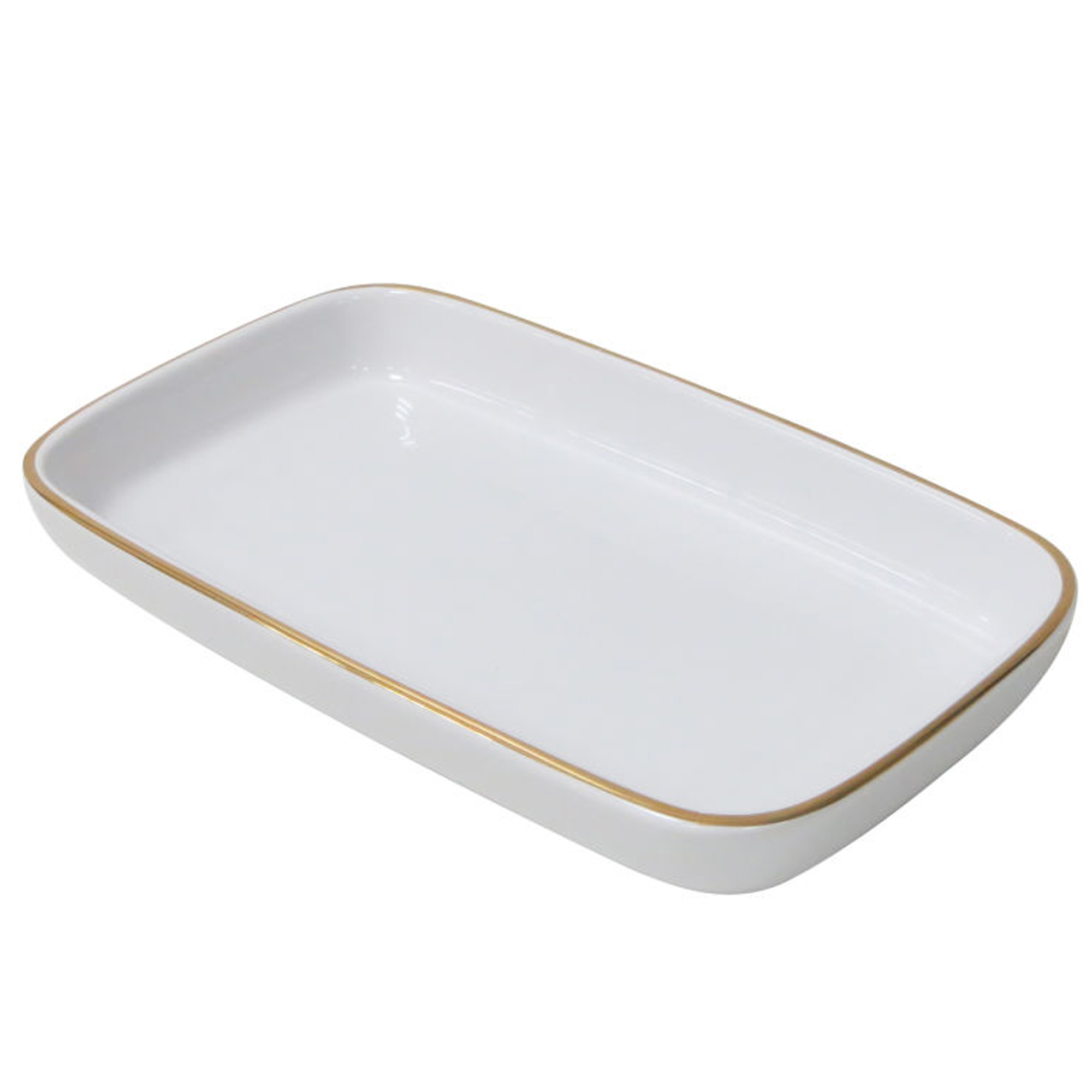 Better Homes and Gardens Gold White Tray