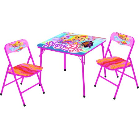Sunny Day 3 Piece Kids Table and Chair Set