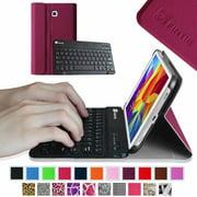 Samsung Galaxy Tab 4 7.0 Inch Keyboard Case - Fintie Ultra Slim Smart Cover with Wireless Bluetooth Keyboard, Purple