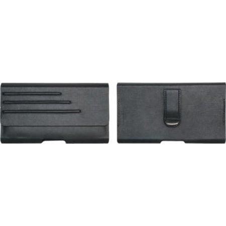 Verizon Housing - Verizon Universal Vegan Leather Pouch with Belt Clip for Most Large Smartphones