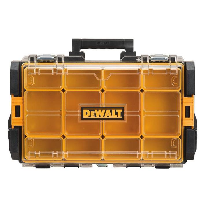 Dewalt Tool Box Portable Small Parts Organizer Toolbox Storage Case Heavy Duty