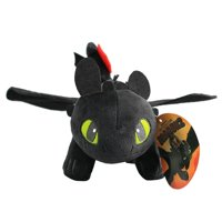 TOYFUNNY Toothless How To Train Your Dragon 3 Night Fury Plush 9.8''