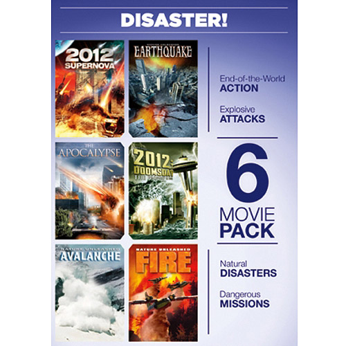 6-Movie Pack: Disaster - 2012: Supernova / Earthquake / The Apocalypse / 2012: Doomsday / Avalanche / Fire (Widescreen)