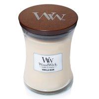 WoodWick Vanilla Bean - Medium Hourglass Candle
