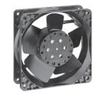 EBM PAPST 4530N AXIAL FAN,119MM, 115VAC,88.9CFM, 45dBA