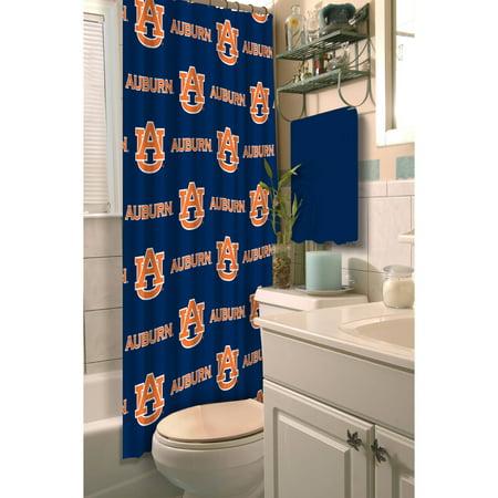 NCAA Auburn Tigers 72x72 Shower Curtain