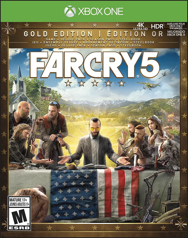 Far Cry 5 Gold Edition Includes Steelbook Extra Content Season Pass Subscription Trilingual Xbox One Walmart Canada