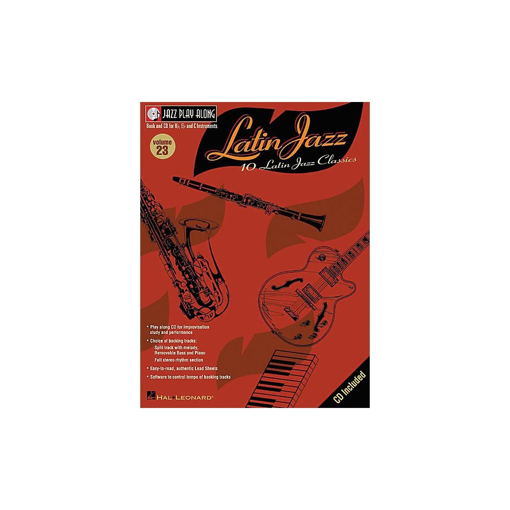 Hal Leonard Jazz Play-Along Series Latin Jazz Book with CD