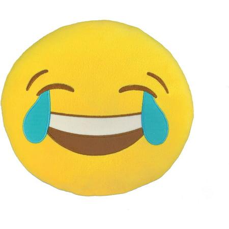 Emoji Large Pillow, Joy - 8 Emoji
