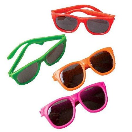 Fashion Sunglasses, 12 Count, Assorted (Toys Sunglasses)