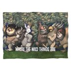 Where The Wild Things Are Wild Rumpus Dance Poly 20X28 Pillow Case White One Size