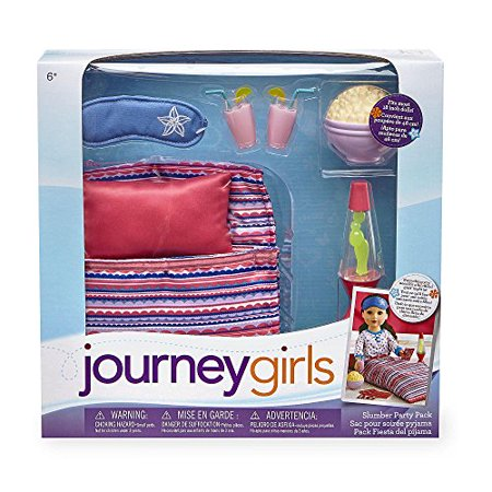 Girls Sleepover Set - Journey Girls Sleepover Accessory Set
