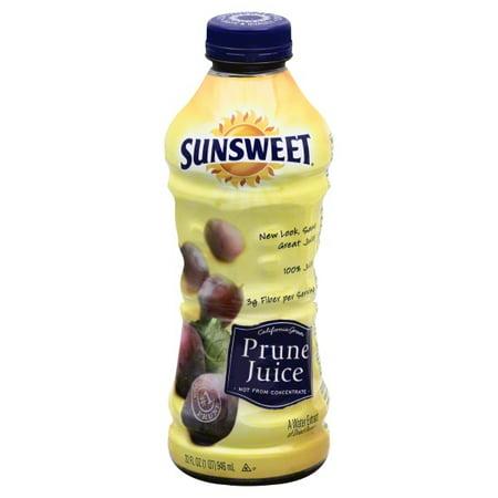 SUNSWEET PRUNE JUICE 32oz (3 Pack) ()