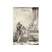 """Mozart Family"" Unframed Paper Print (Unframed Paper Poster Giclee 20x29)"