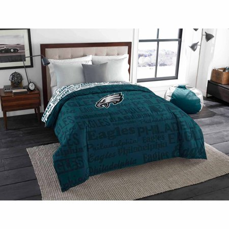 NFL Philadelphia Eagles Twin Full Bedding Comforter. NFL Philadelphia Eagles Twin Full Bedding Comforter   Walmart com